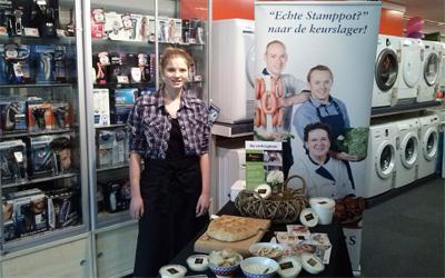 Food Happiness promoot haar boerenproducten ook bij uw bedrijf of evenement